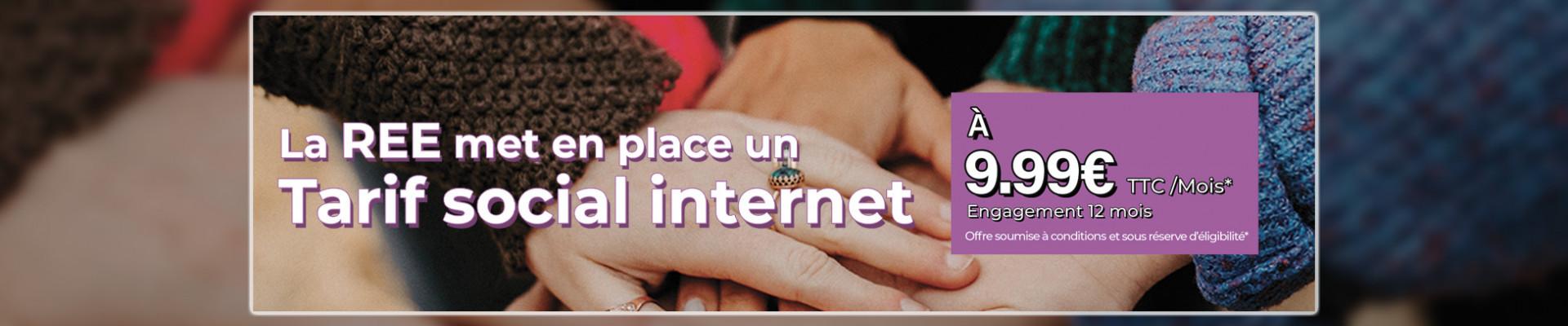 Tarif social internet